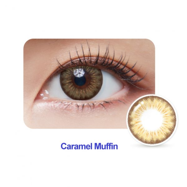 Caramel Muffin Monthly Colour Contact Lense