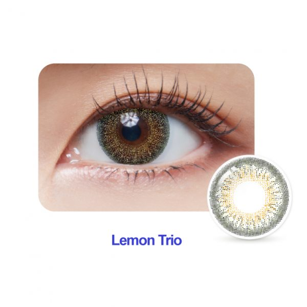 Lemon Trio Monthly Colour Contact Lense